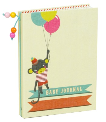 Baby Journal Little Circus von Moola Papergoods & Gifts