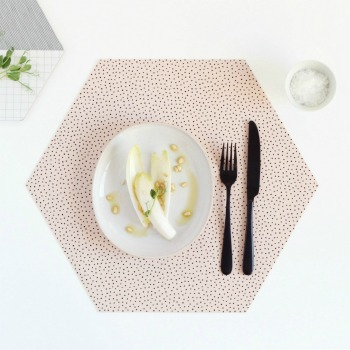 Tischset - Nude Placemats von BY MAY Stockholm