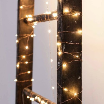 Lichterkette Copper String Lights von Kikkerland