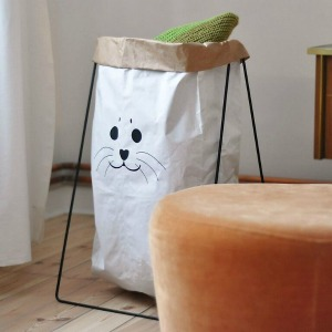 Paperbag Holder black von Studio Kolor