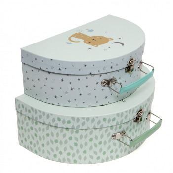 Kinderkoffer - Suitcase Set Baby Boar von Petit Monkey