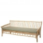 Preview: Sole Gartensofa nature bamboo von Bloomingville