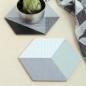 Preview: Cubic Pot Coaster - Der Topfuntersetzer von By May Stockholm