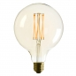 Mobile Preview: Orbis Lamp white marble - Die Tischlampe mit Dimmer von EDGAR Home