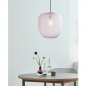 Preview: Deckenlampe Glas rosa Messing von Hübsch Interior