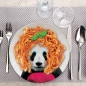 Mobile Preview: Wild Dining Teller Panda von Mustard