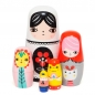 Preview: Matroschka Fleur & Friends von Petit Monkey