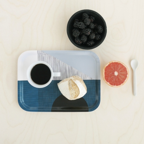 Tablett Edge Tray von By May Stockholm