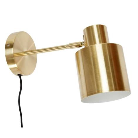 Wandlampe Messing