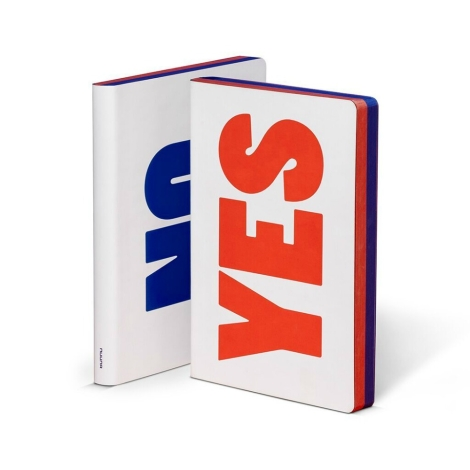 Notizbuch YES NO - Das Notebook von nuuna by brandbook