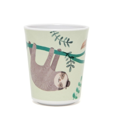 Melamin Kinderbecher Sloth von Petit Monkey