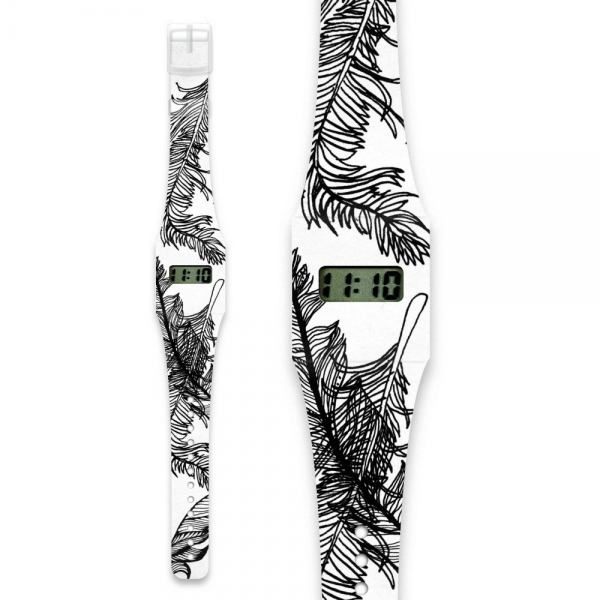 Pappwatch Feather - Die Armbanduhr aus Tyvek