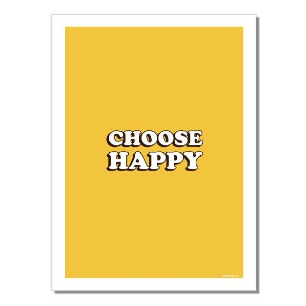 Geschirrtuch Choose Happy von prettyberlin