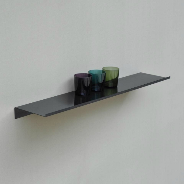 Z Shelf – Wandregal schwarz von Studio Kolor