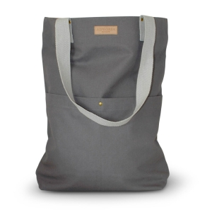 Canvas Tragetasche Mano dark gray