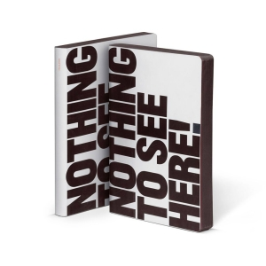 nuuna Notizbuch – Nothing to see here