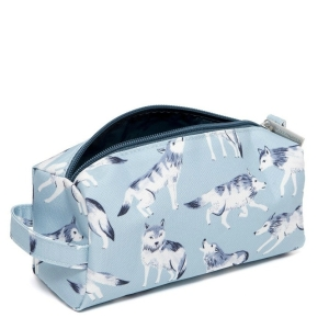 Federtasche – Pencil Case Wolves