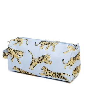 Federtasche – Pencil Case Tigers grey