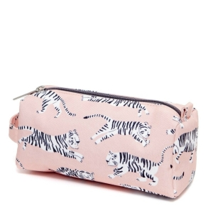 Federtasche – Pencil Case white Tigers