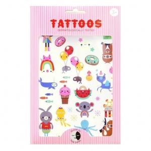 Koala craziness - Glow in the dark tattoos von Petit Monkey