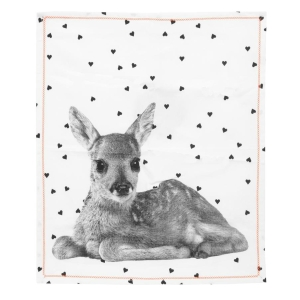Geschirrtuch – Tea Towel Hearts Deer