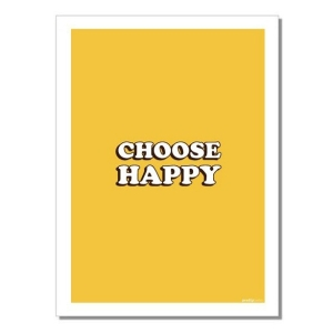 Geschirrtuch Choose Happy